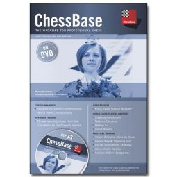 ChessBase Magazine 168 (with DVD) November 2015 NEW SEALED